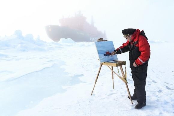 Выставка Виктора Кобзева в Русском доме