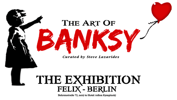 Нелегальная легальная выставка Бэнкси в Берлине