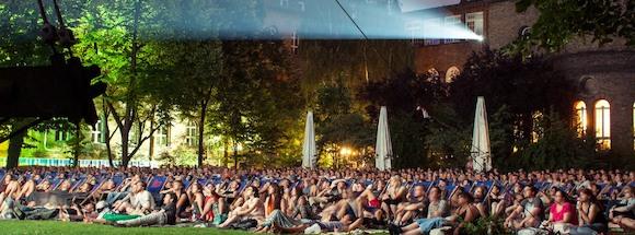 Лучшие кинотеатры Берлина под открытым небом