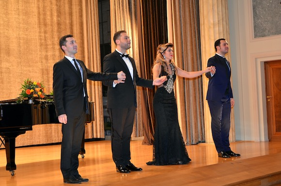 Рождественский концерт в Посольстве России