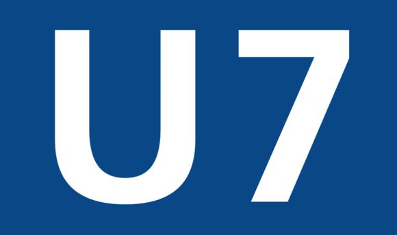 С понедельника линия метро U7 не работает