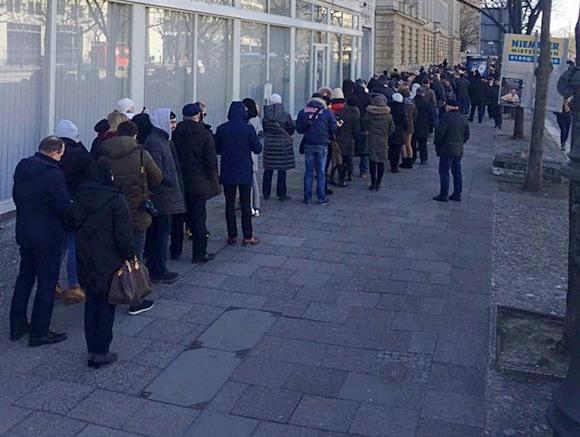 Берлин: Итоги выборов Президента РФ