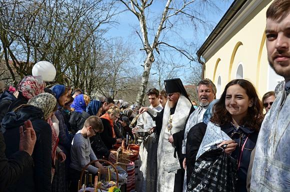 Пасха в Берлине: приходите в Храм с открытым сердцем