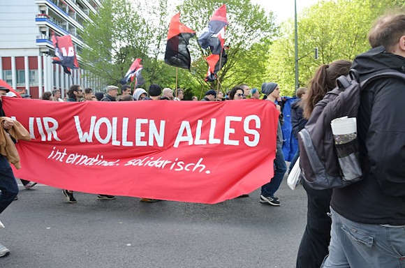 Первомай в Берлине: «революция» продолжается…