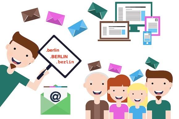 Прекрасный Берлин в имени твоей электронной почты