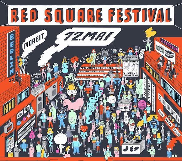 Новый немецко-русский фестиваль 12 мая в Берлине: Хэдлайнер Red Square  - легендарная группа Трубецкой