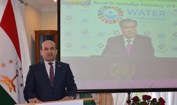В Таджикистане пройдет международная конференция «Вода для устойчивого развития»