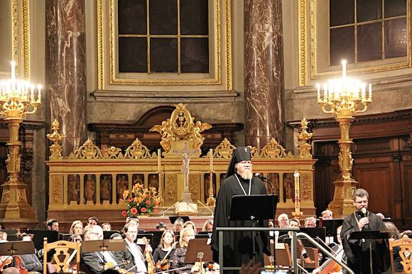 К 100-летию окончания Первой мировой войны в главном соборе Берлина прозвучал