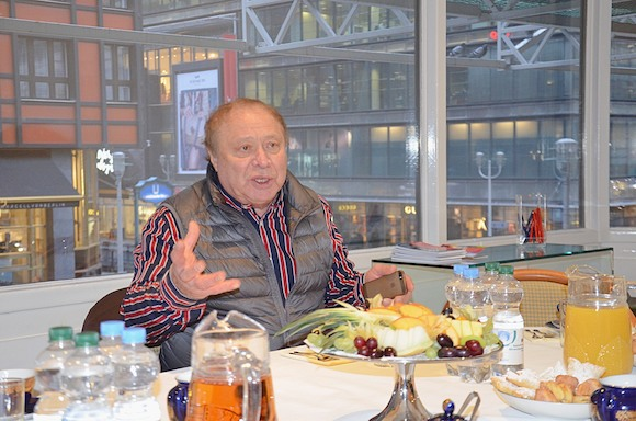 Иосиф Райхельгауз: «Живу в правильном месте, в России, и никогда не уеду на Запад»…
