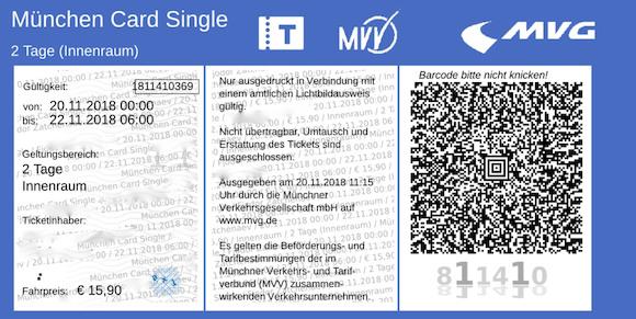 Мюнхен — щедрая карта для туриста