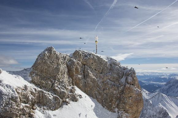Цугшпитце. Вершина Германии. Инструкция по применению.