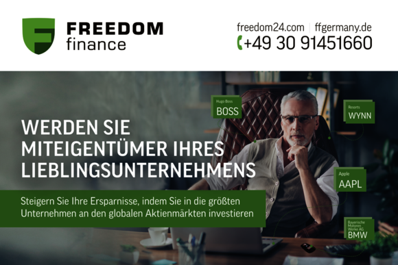 «Фридом Финанс» нашел, что предложить инвесторам в Германии