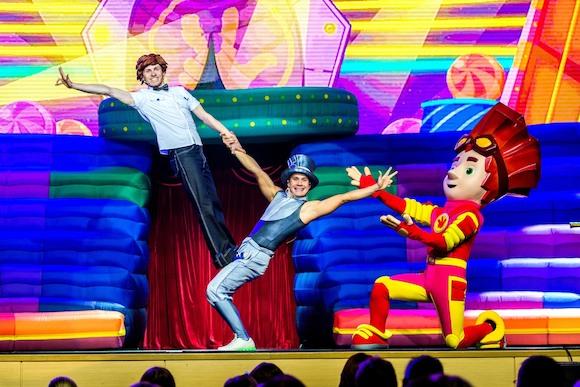 Фикси-шоу – оживший мультфильм на сцене! Большой тур «Фиксики играют в цирк» в Германии с 21 марта по 12 апреля