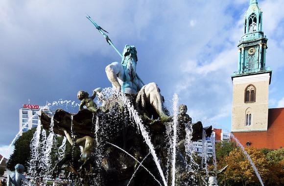 17 апреля открывается новый сезон фонтанов