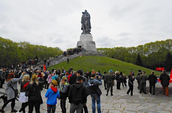 Празднование 74-ой годовщины Победы в Берлине