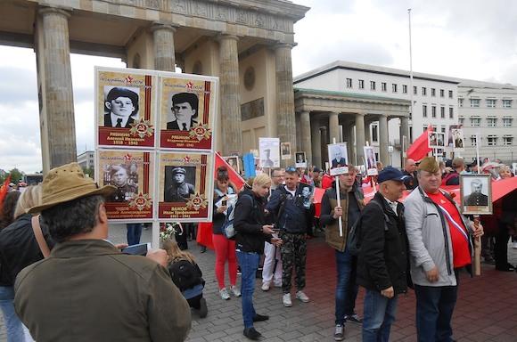 Празднование Дня Победы в Берлине