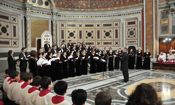 Концерт Московского Синодального хора в Берлине