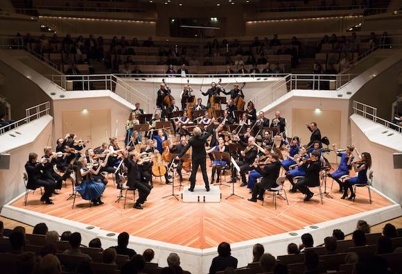 Оркестр Бетховена Le Concert Olympique в Берлине