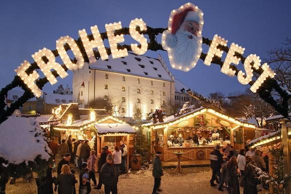 Рождество и Новый год в Ингольштадте