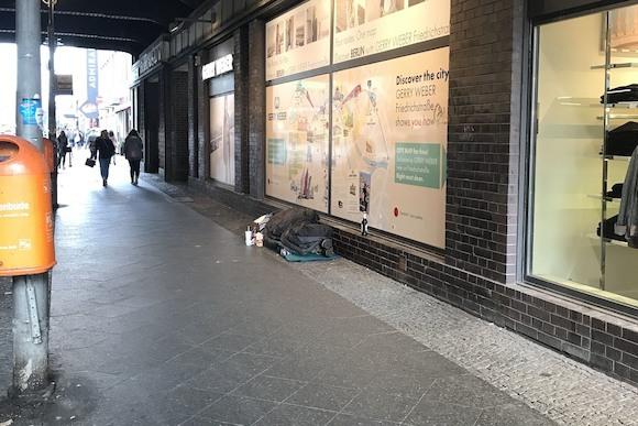 Перепись бездомных в Берлине
