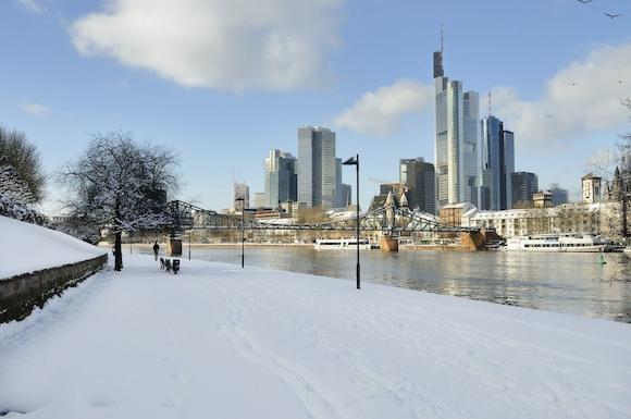 Зима во Франкфурте-на-Майне 2020:  музыкальный фейерверк, Ван Гог и франкфуртские колбаски