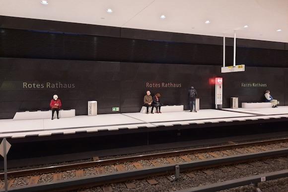 Alexanderplatz - Hauptbahnhof на U5