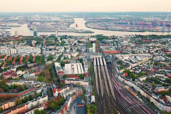 Новый район в Гамбурге Altona Neue Mitte