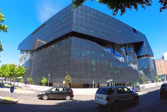 Новый кампус издательства Axel Springer в Берлине