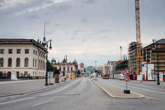 В немецких городах могут запретить автомобильное движение