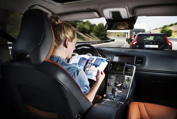 Машины с автопилотом оснастят «черными ящиками»