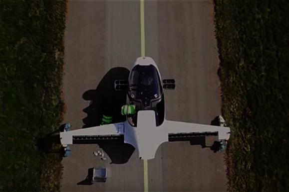 Летающий электромобиль протестировали в Германии